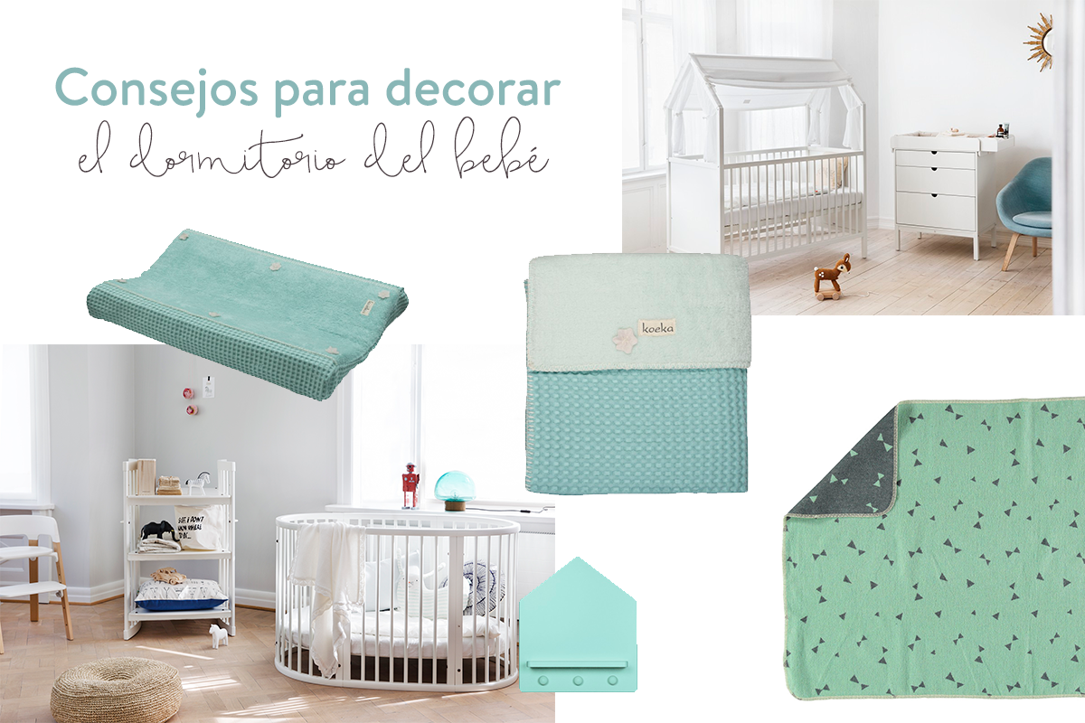 Como decorar el dormitorio de un bebe dise os for Como decorar un dormitorio