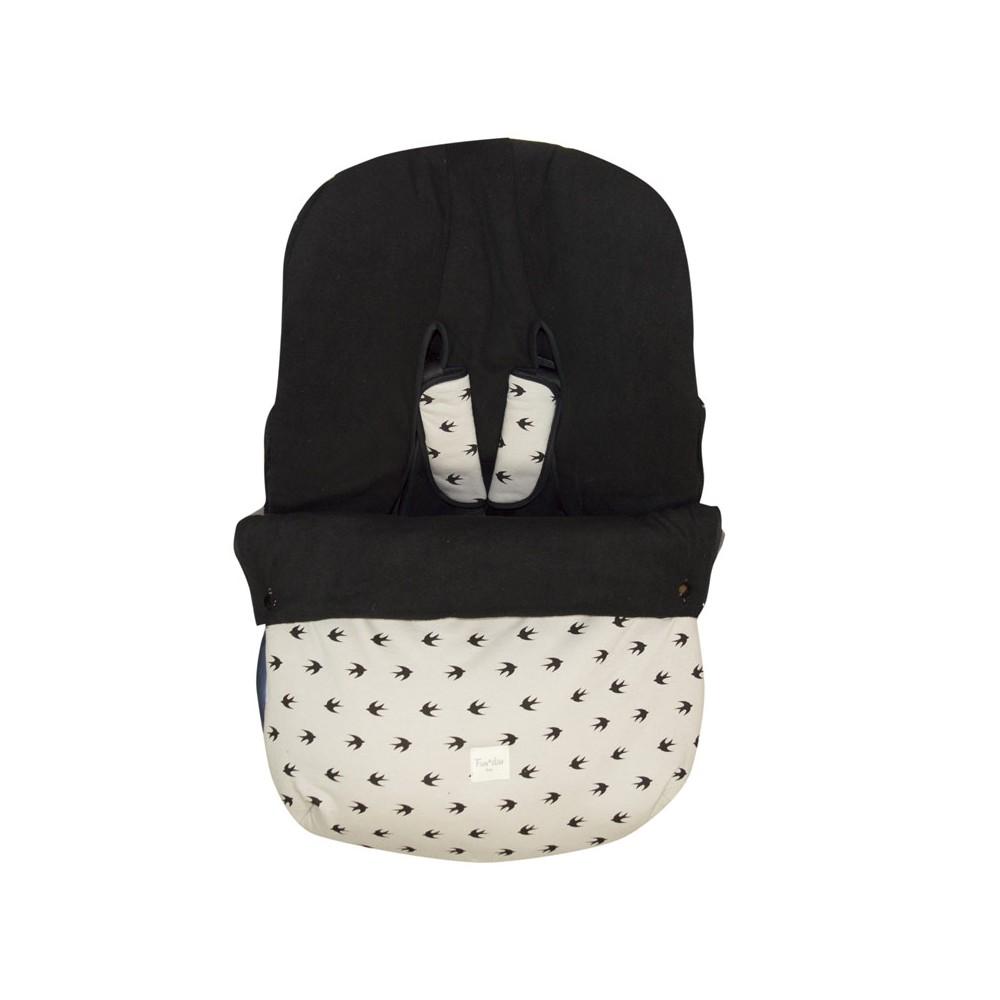 Saco para silla de grupo 0 polar experiencia beb for Silla de bebe para coche grupo 0